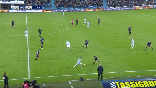 Serie A: SPAL - Cagliari   DAZN Highlights