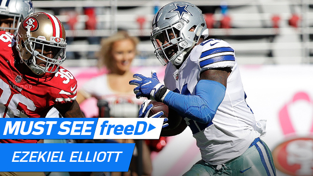 freeD: See the block that got Ezekiel Elliott WIDE OPEN for his 72-yard TD run | Week 7