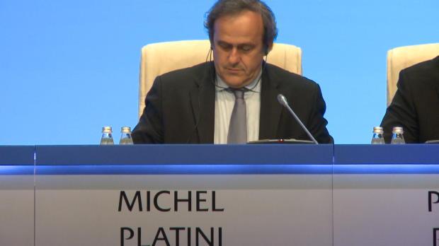 Platini no se presentar� a la presidencia de la FIFA