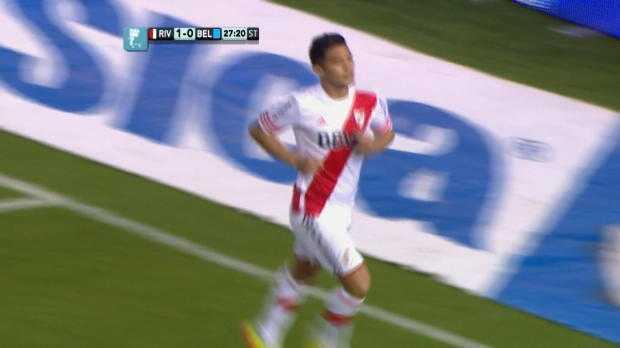 Argentine : River Plate 3-0 Belgrano