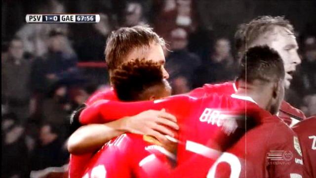 كرة قدم: الدوري الهولندي: أيندهوفن 1-0 غو آهيد إيغلز