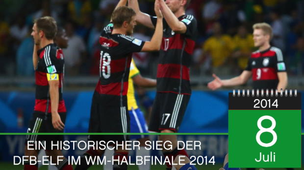 On This Day: 7:1! DFB-Elf zerlegt Brasilien