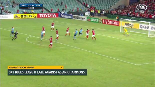 Sky Blues stun Asian champions