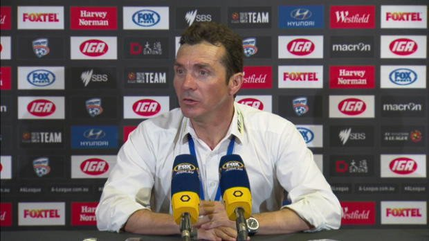Adelaide United Rd23 press conference