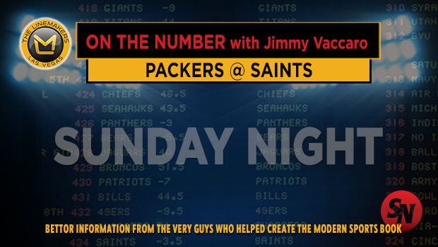 Jimmy V on Packers @ Saints