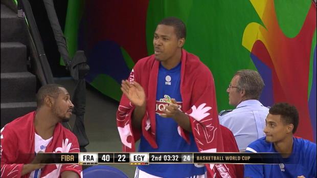 Basket : FIBA - Bleus - La France déroule contre l'Égypte