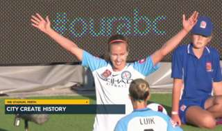 Melbourne City became the first club to defend their Westfield W-League title after beating Perth Glory 2-0 in Sunday's Grand Final.