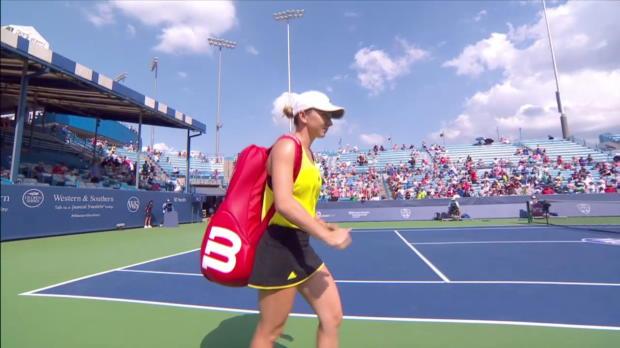 WTA Cincinnati: Halep - Townsend