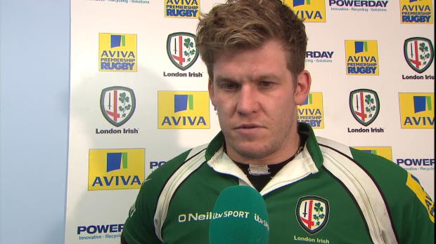 Aviva Premiership - London Irish Post-Match Interviews