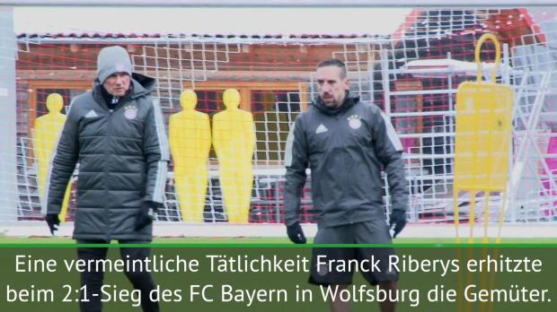 Nach Wolfsburg: Heynckes zeigt Ribery wie's geht