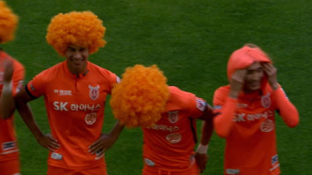 K-League: Oranje-Haarpracht in Südkorea