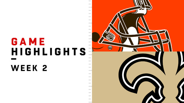 Browns vs. Saints highlights | Week 2