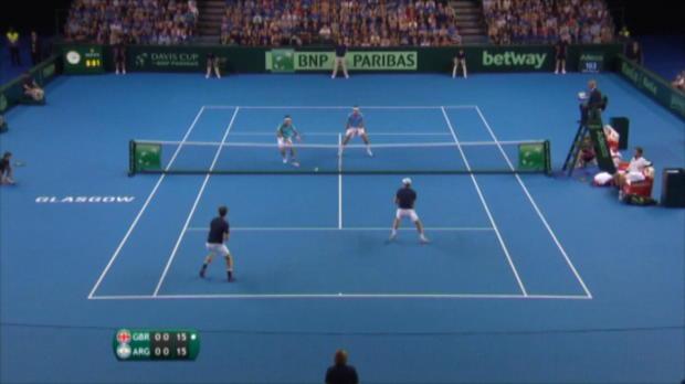 Davis Cup: Murray-Brüder bringen GB zurück