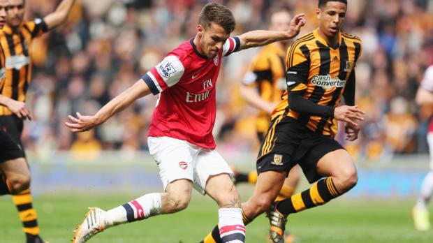 P.League - Arsenal, Wenger loue le retour de Ramsey