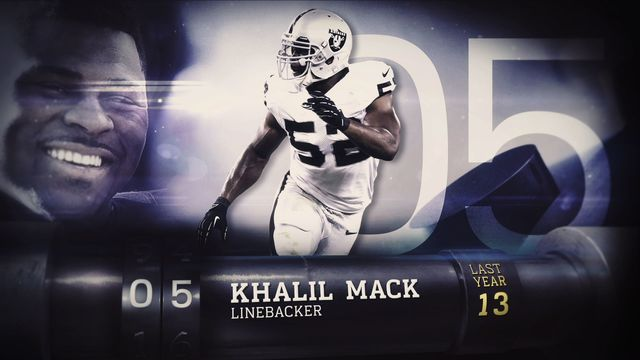 'Top 100 Players of 2017': No. 5 Oakland Raiders defensive end Khalil Mack