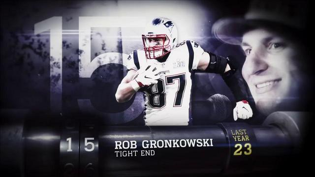 'Top 100 Players of 2018': New England Patriots tight end Rob Gronkowski | No. 15