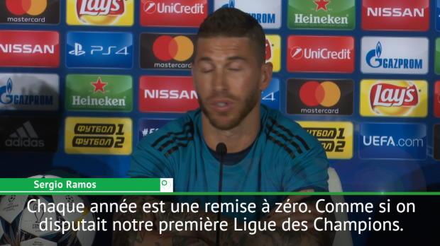 Finale - Sergio Ramos - 'Comme si on était en finale pour la première fois'