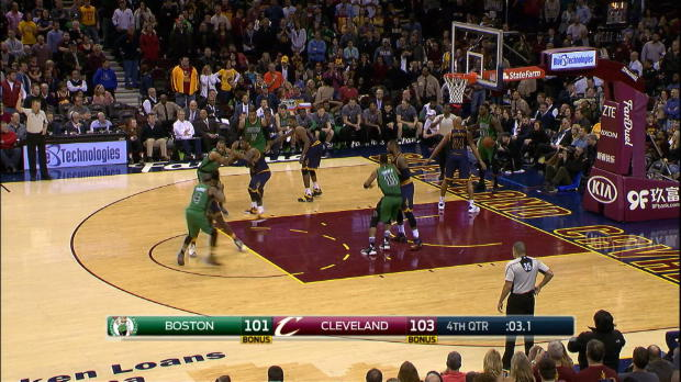 Basket : NBA - NBA - Les Cavs piégés à Boston