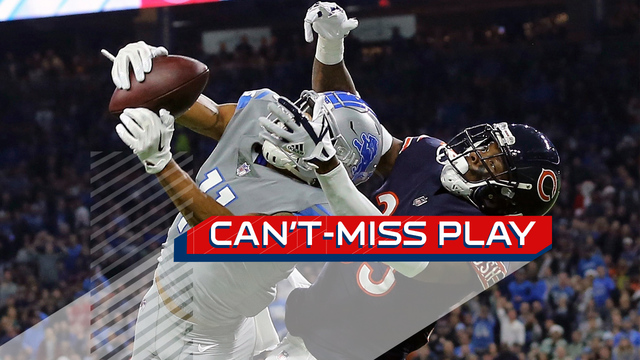 Can't-Miss Play: Stafford evades defenders, Jones gets UP for jump ball