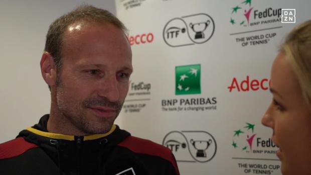 """Trainer vor Fed Cup: Ein Duell """"auf Augenhöhe"""""""