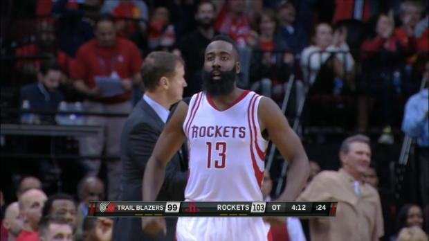 Basket : NBA - Harden sonne la révolte pour Houston