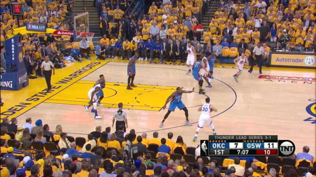 WSC: Klay Thompson nets 27 points in win over the Thunder