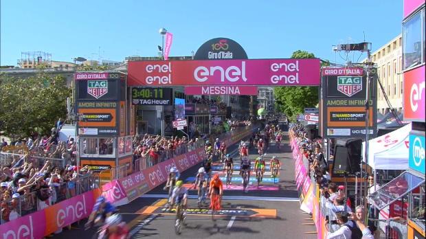 Giro de Italia - Gaviria, rey de la velocidad, gana en Messina