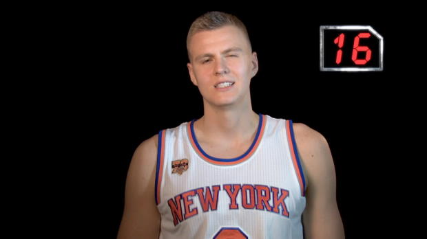 24 Seconds- Kristaps Porzingis - NBA World
