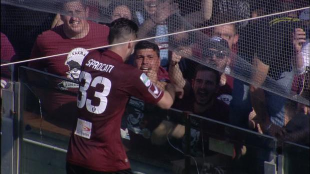 Salernitana 2-1 Latina, Giornata 36 Serie B ConTe.it 2016/17