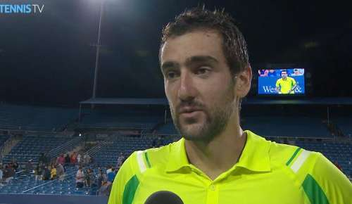 Cilic Interview: ATP Cincinnati SF