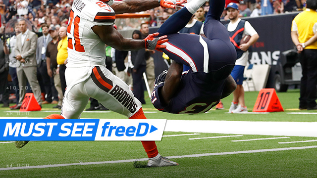 freeD: Braxton Miller flips into end zone | Week 6