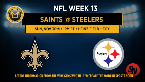 New Orleans Saints @ Pittsburgh Steelers