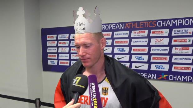 """Zehnkampf: Abele holt Gold! """"Wahnsinn"""""""