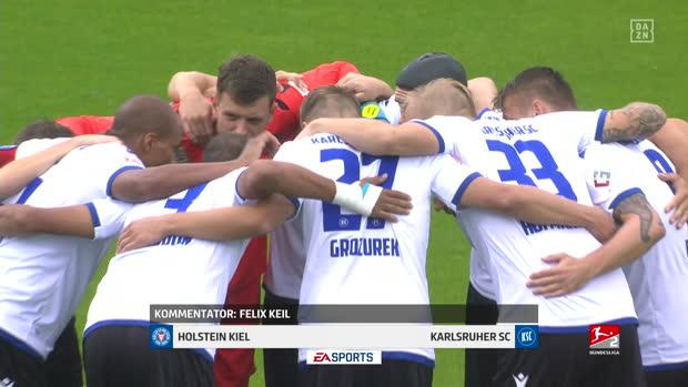 2. Bundesliga: Holstein Kiel - Karlsruher SC   DAZN Highlights