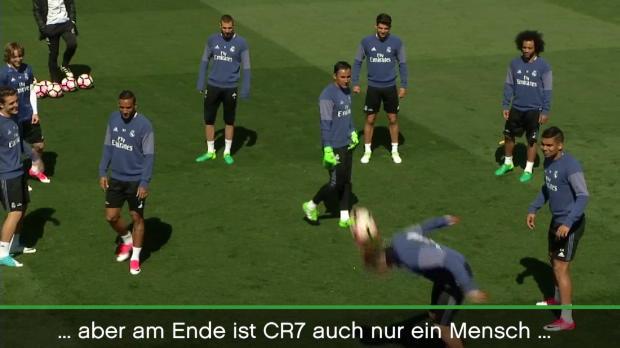 Zauberer Ronaldo auch nur einer von uns