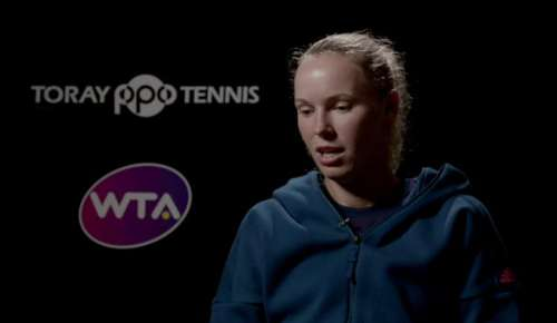 Wozniacki Interview: WTA Tokyo Final