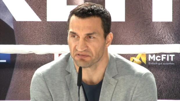 Boxen: Klitschko: Druck liegt bei Joshua