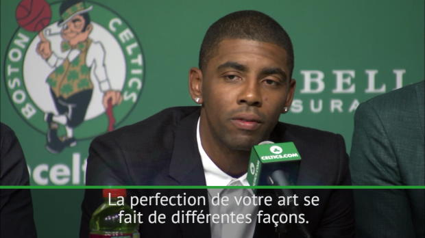 Celtics - Irving - 'J'ai appris énormément de LeBron'