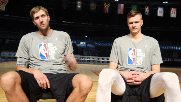 Dirk and Kristaps Strengthen Their Friendship