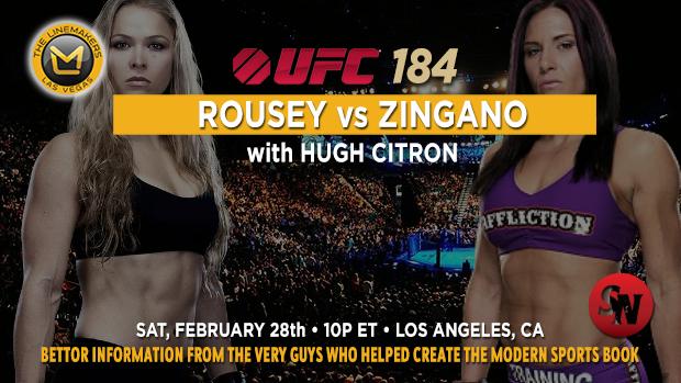 UFC 184 Rousey Vs Zingano