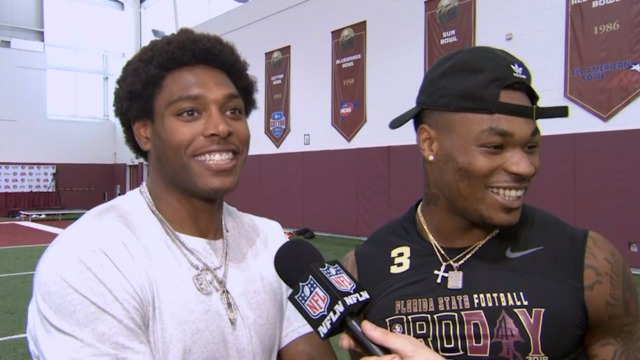 Jacksonville Jaguars cornerback Jalen Ramsey on FSU safety Derwin James: He 'should go No. 1 overall' in the NFL Draft