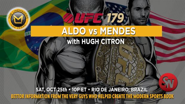 UFC 179: Aldo Vs. Mendes