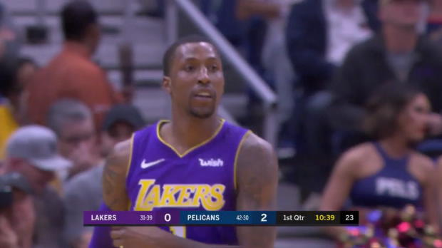 WSC: Kentavious Caldwell-Pope (28 points) Highlights vs. New Orleans Pelicans, 03/22/2018