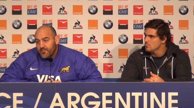 Rugby : Tournée de novembre - Ledesma - ''Je ne me fais aucun souci pour les Bleus en Coupe du Monde''
