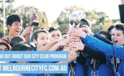 Melbourne City held it's third annual City Clubs Cup at CFA Melbourne. 12 teams competed in the competition in both U11 and U13 age groups. The final for each age group saw the teams play on the CFA elite pitch. In the under 11's, Ringwood City defeated Bentleigh in the final. While in the under 13's, Mill Park beat Bundoora United on penalties.