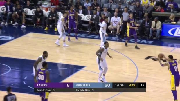WSC: Kyle Kuzma (25 points) Highlights vs. Memphis Grizzlies, 03/24/2018