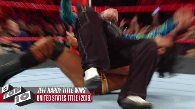 Jeff Hardy's greatest title triumphs: WWE Top 10, April 21, 2018