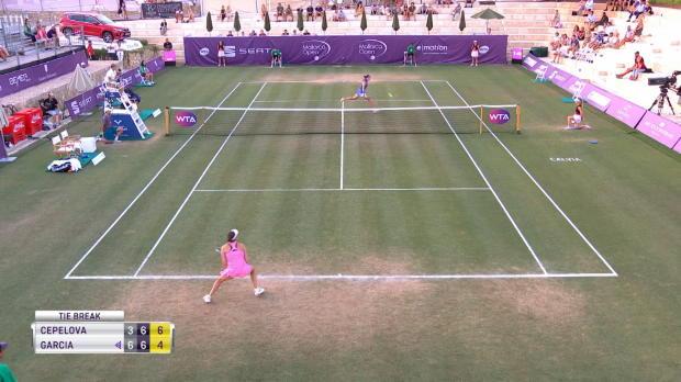 Tennis : Majorque - Le match de Garcia interrompu après 2h de jeu