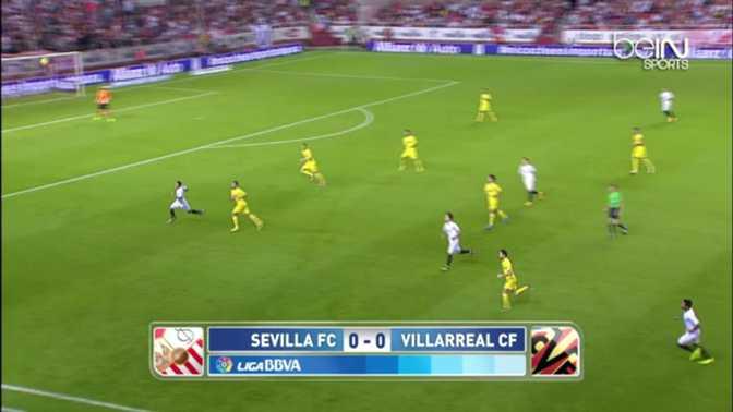 Liga : Seville 2-1 Villarreal