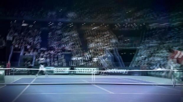 Davis Cup: Cilic zittert, del Potro souverän